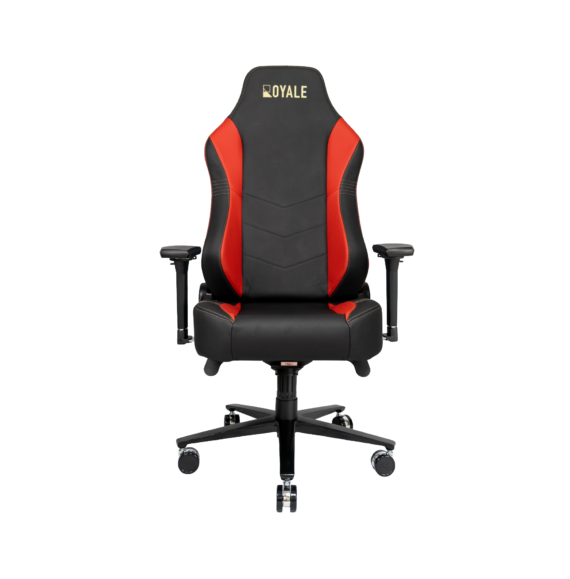 ROYALE CHAIRS FAUX RED-21