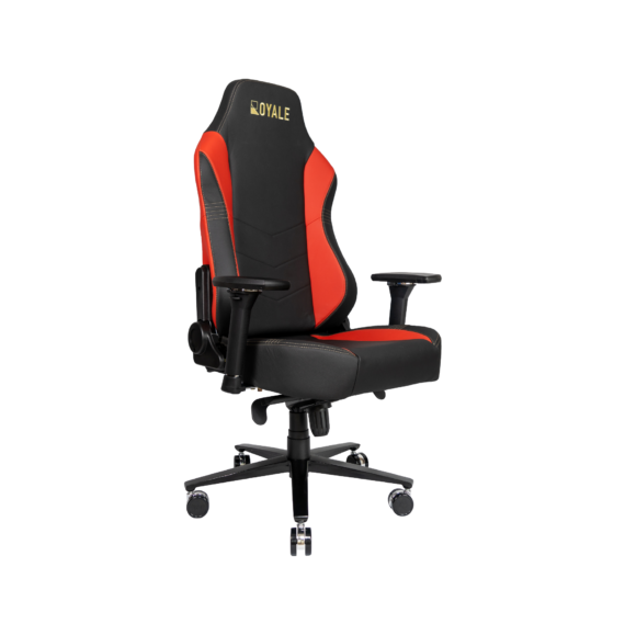 ROYALE CHAIRS FAUX RED-22