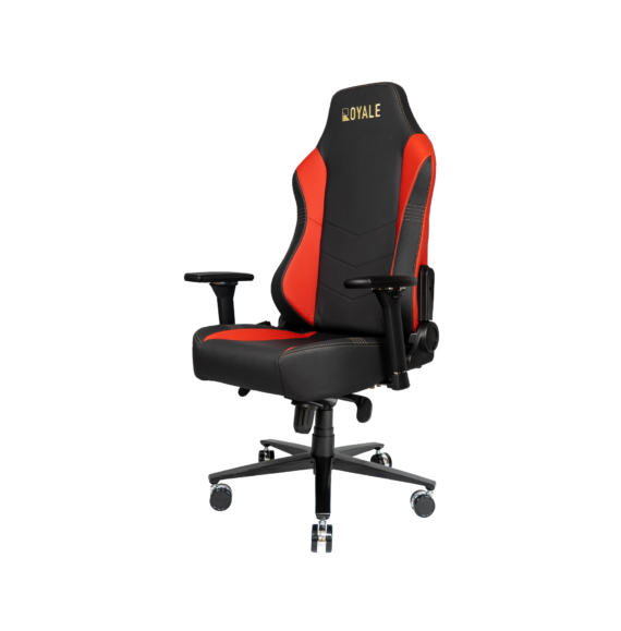 ROYALE CHAIRS FAUX RED-23