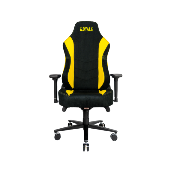 ROYALE CHAIRS SUEDE YELLOW-41
