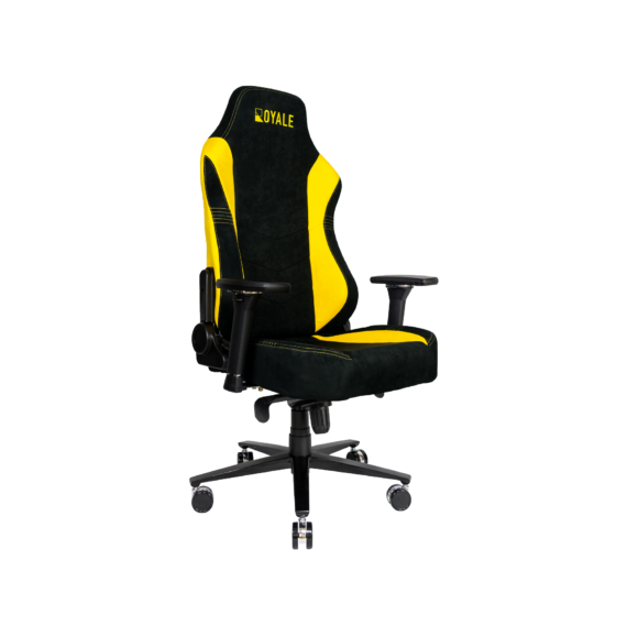 ROYALE CHAIRS SUEDE YELLOW-42